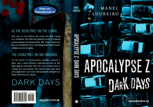 Apocalypse Z Dark Days Cover